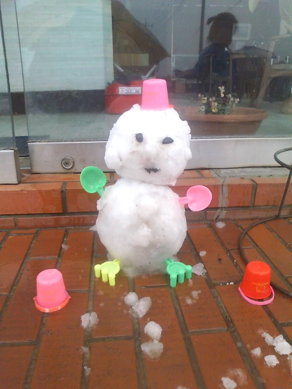 08.1,23 雪だるま
