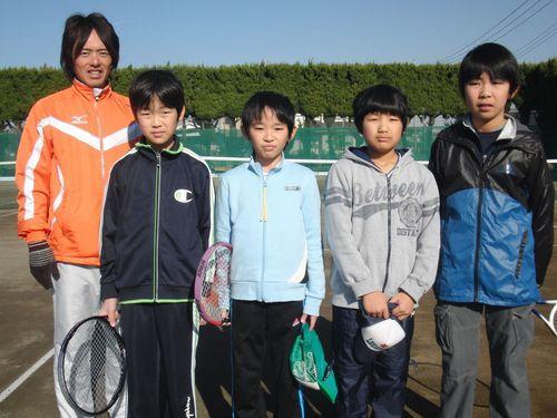 2010.12.28ジュニアシングルス練習会