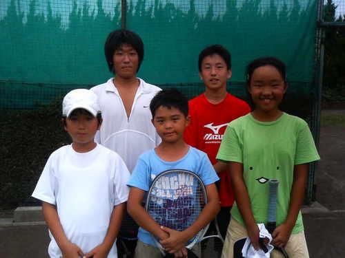 強化練習の参加者5名