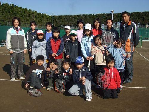 2009,12,23クラブ内シングルス・クリスマス大会
