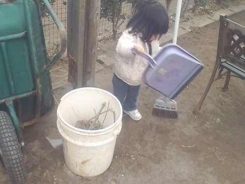 Yuaもお掃除~