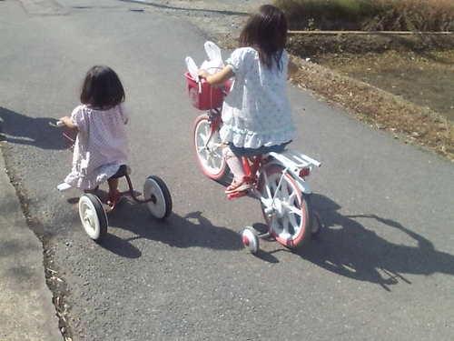 2人でサイクリング!?