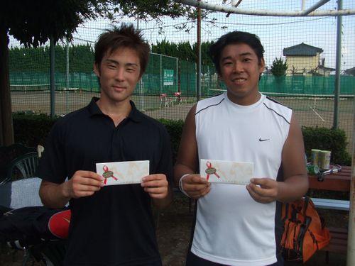 2008,9,23男子オープンシングルス