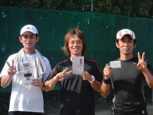 2011.9.19 男子オープンシングルス