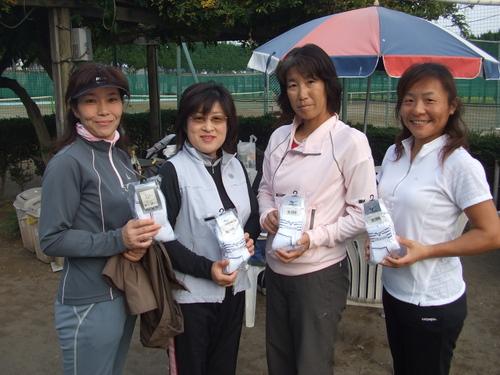 2007.10.25 C級以下女子ダブルス
