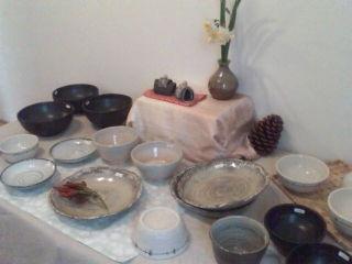 陶器の展示会&amp;<br />  即売会
