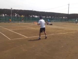 男子オープンシングルス開催!