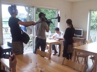 「さって豆腐プロジェクト」カフェ取材終了