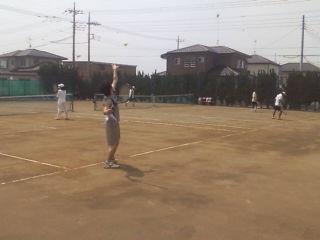 親睦テニス会