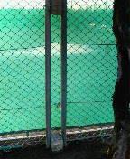 フェンスの補習完了(^^)v